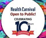 10th Anniversary Health carnival