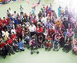 Hospital Donates Equipment Worth RM10K for the Disabled